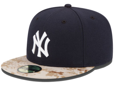 New York Yankees New Era MLB 2015 Memorial Day Stars and Stripes 59FIFTY Cap