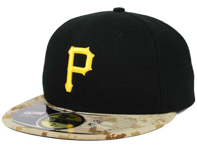 Pittsburgh Pirates New Era MLB 2015 Memorial Day Stars and Stripes 59FIFTY Cap