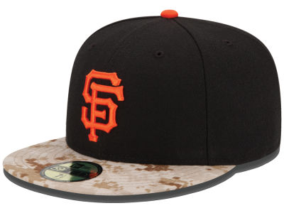 San Francisco Giants New Era MLB 2015 Memorial Day Stars and Stripes 59FIFTY Cap