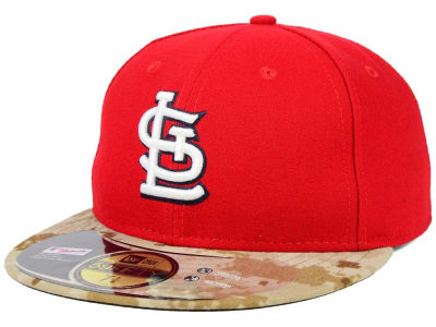 St. Louis Cardinals New Era MLB 2015 Memorial Day Stars and Stripes 59FIFTY Cap