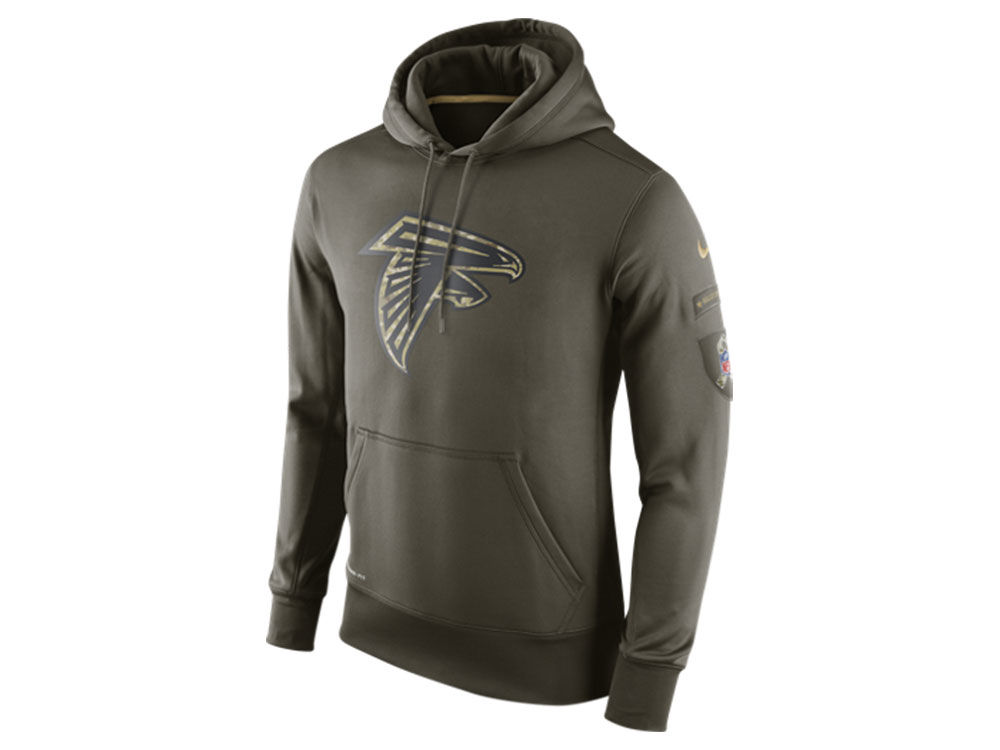 Atlanta Falcons Nike NFL Men s Salute To Service KO Hoodie  a832cc955