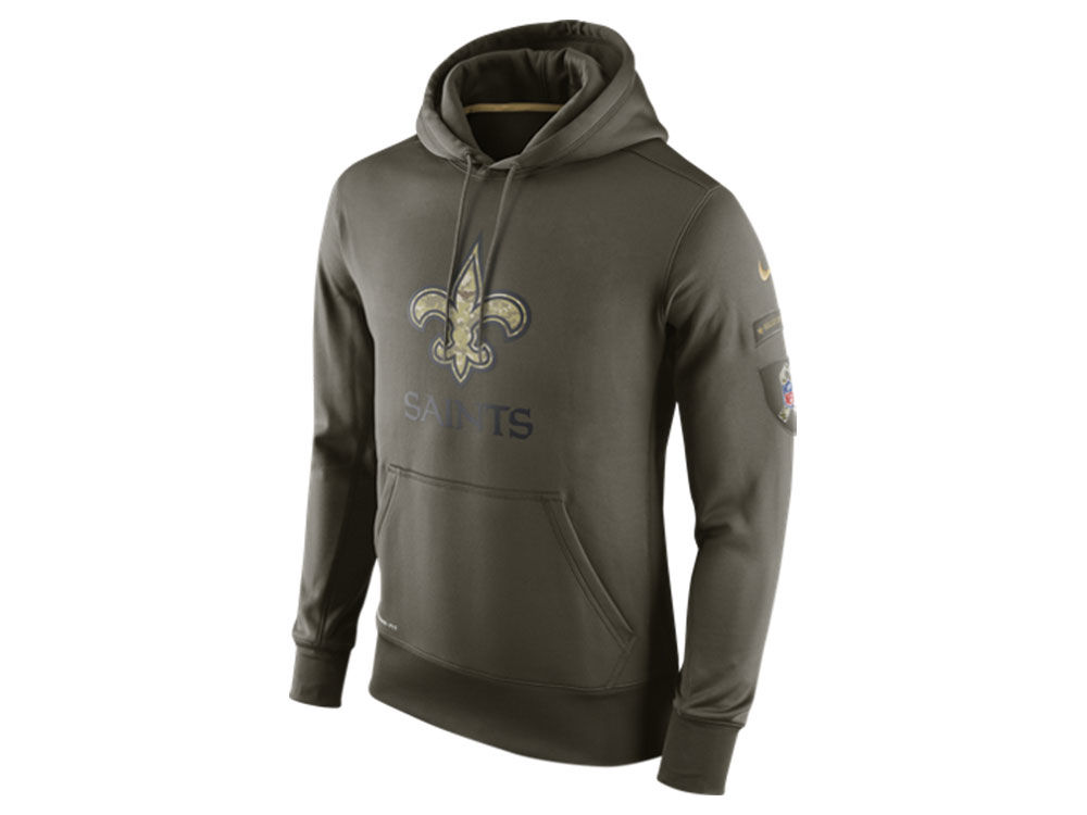 huge discount d195e 8f1b2 Mens Performance Hoodie Olive Ko To Orleans Salute New ...