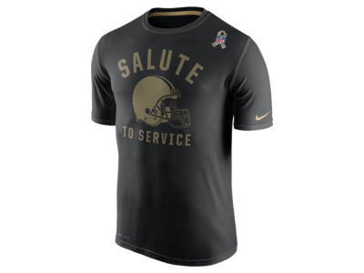 Cleveland Browns Nike NFL Men's Salute to Service Legend T-Shirt