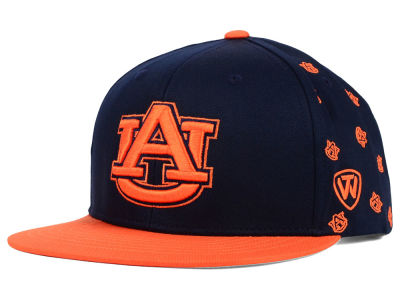 Auburn Tigers Top of the World NCAA All Flocking Cap
