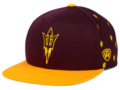 Arizona State Sun Devils Top of the World NCAA All Flocking Cap