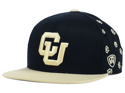 Colorado Buffaloes Top of the World NCAA All Flocking Cap