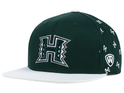 Hawaii Warriors Top of the World NCAA All Flocking Cap