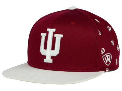 Indiana Hoosiers Top of the World NCAA All Flocking Cap