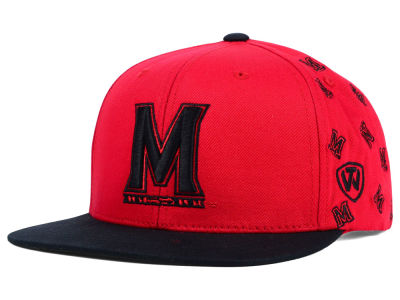 Maryland Terrapins Top of the World NCAA All Flocking Cap
