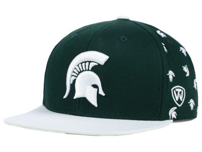 Michigan State Spartans Top of the World NCAA All Flocking Cap