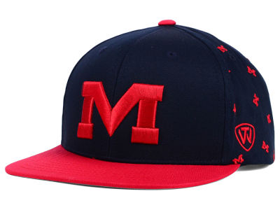 Ole Miss Rebels Top of the World NCAA All Flocking Cap
