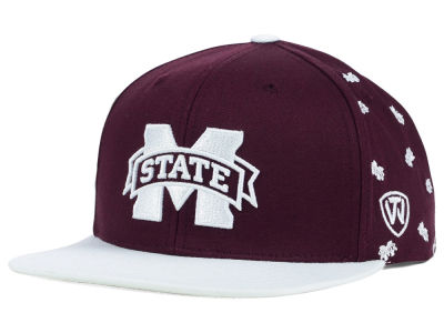 Mississippi State Bulldogs Top of the World NCAA All Flocking Cap