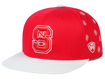 North Carolina State Wolfpack Top of the World NCAA All Flocking Cap