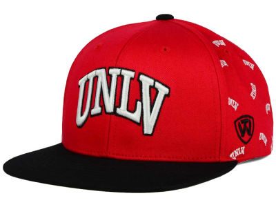 UNLV Runnin Rebels Top of the World NCAA All Flocking Cap