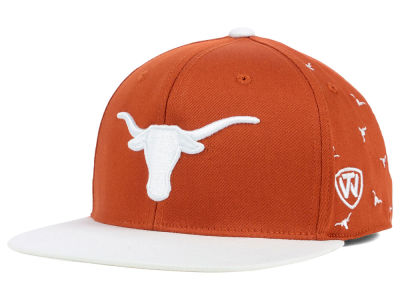 Texas Longhorns Top of the World NCAA All Flocking Cap