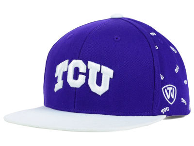 Texas Christian Horned Frogs Top of the World NCAA All Flocking Cap