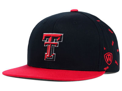 Texas Tech Red Raiders Top of the World NCAA All Flocking Cap