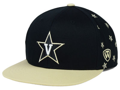 Vanderbilt Commodores Top of the World NCAA All Flocking Cap