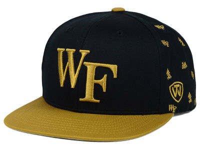 Wake Forest Demon Deacons Top of the World NCAA All Flocking Cap