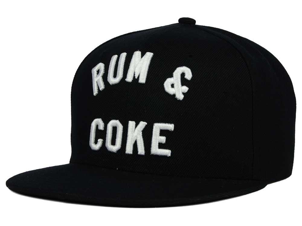 Rum Coke Snapback Hat  239dec9679c