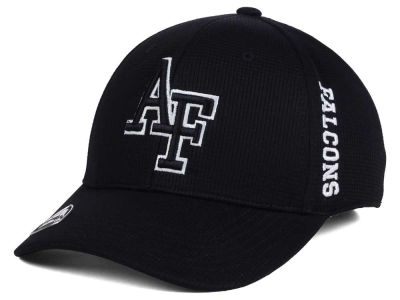 Air Force Falcons Top of the World NCAA Black White Booster Cap