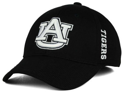 Auburn Tigers Top of the World NCAA Black White Booster Cap