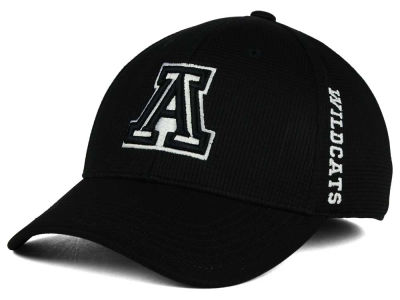 Arizona Wildcats Top of the World NCAA Black White Booster Cap