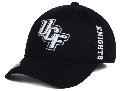 University of Central Florida Knights Top of the World NCAA Black White Booster Cap