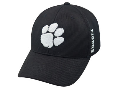 Clemson Tigers Top of the World NCAA Black White Booster Cap