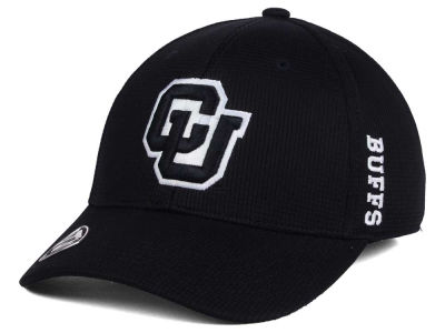 Colorado Buffaloes Top of the World NCAA Black White Booster Cap