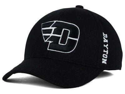 Dayton Flyers Top of the World NCAA Black White Booster Cap