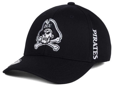 East Carolina Pirates Top of the World NCAA Black White Booster Cap