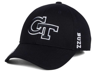 Georgia-Tech Top of the World NCAA Black White Booster Cap