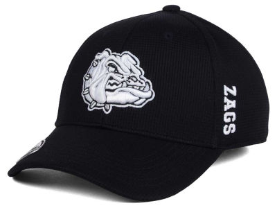 Gonzaga Bulldogs Top of the World NCAA Black White Booster Cap