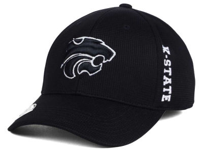 Kansas State Wildcats Top of the World NCAA Black White Booster Cap