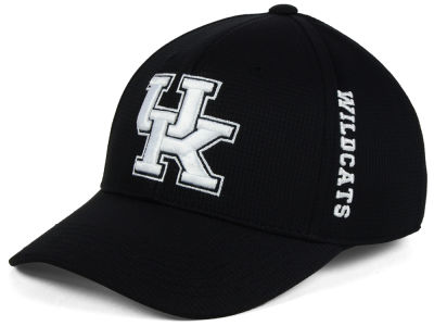 Kentucky Wildcats Top of the World NCAA Black White Booster Cap