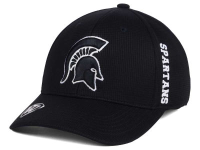 Michigan State Spartans Top of the World NCAA Black White Booster Cap