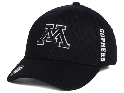 Minnesota Golden Gophers Top of the World NCAA Black White Booster Cap