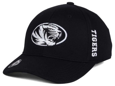 Missouri Tigers Top of the World NCAA Black White Booster Cap