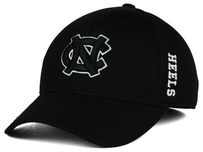 North Carolina Tar Heels Top of the World NCAA Black White Booster Cap