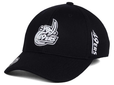 Charlotte 49ers Top of the World NCAA Black White Booster Cap