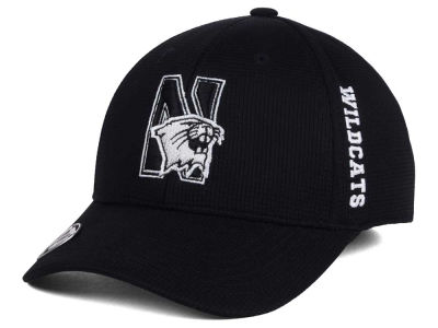 Northwestern Wildcats Top of the World NCAA Black White Booster Cap