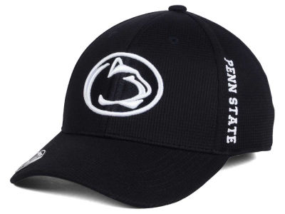 Penn State Nittany Lions Top of the World NCAA Black White Booster Cap