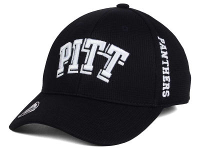 Pittsburgh Panthers Top of the World NCAA Black White Booster Cap