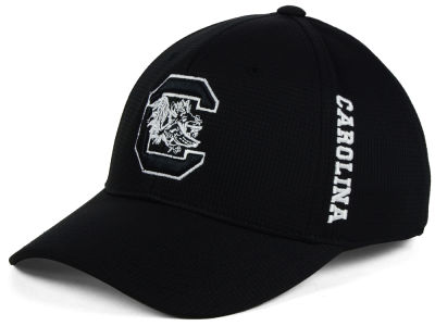South Carolina Gamecocks Top of the World NCAA Black White Booster Cap