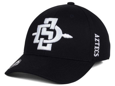 San Diego State Aztecs Top of the World NCAA Black White Booster Cap