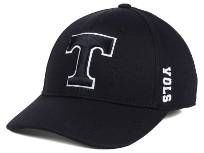 Tennessee Volunteers Top of the World NCAA Black White Booster Cap
