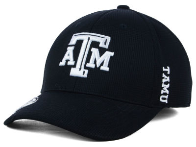 Texas A&M Aggies Top of the World NCAA Black White Booster Cap