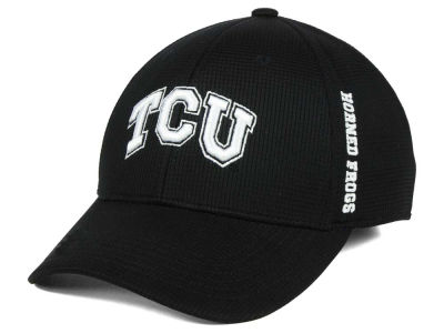 Texas Christian Horned Frogs Top of the World NCAA Black White Booster Cap