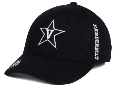Vanderbilt Commodores Top of the World NCAA Black White Booster Cap